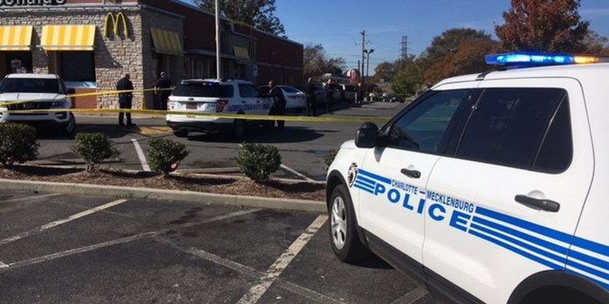 Man found shot in McDonald's parking lot in east Charlotte