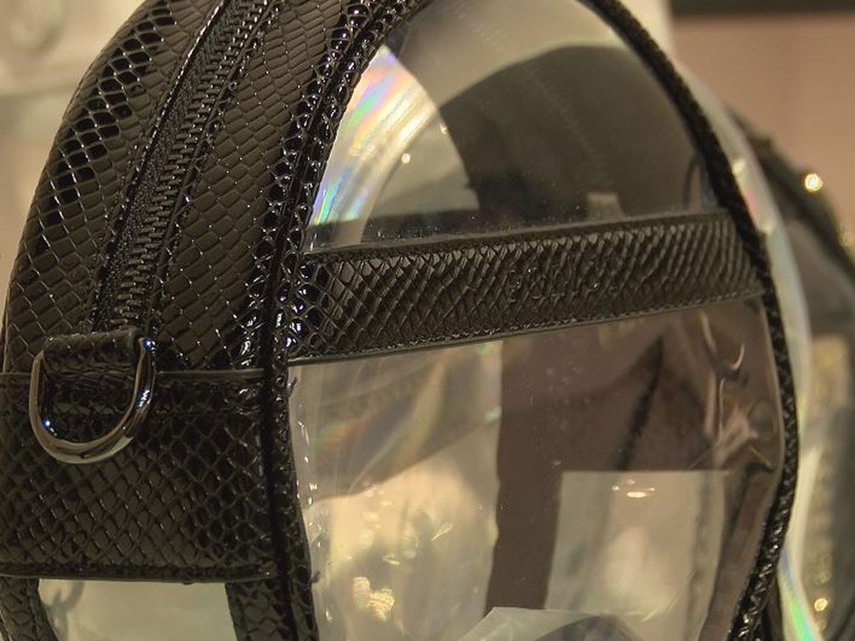 Clear bags required for nighttime light rail travel this weekend