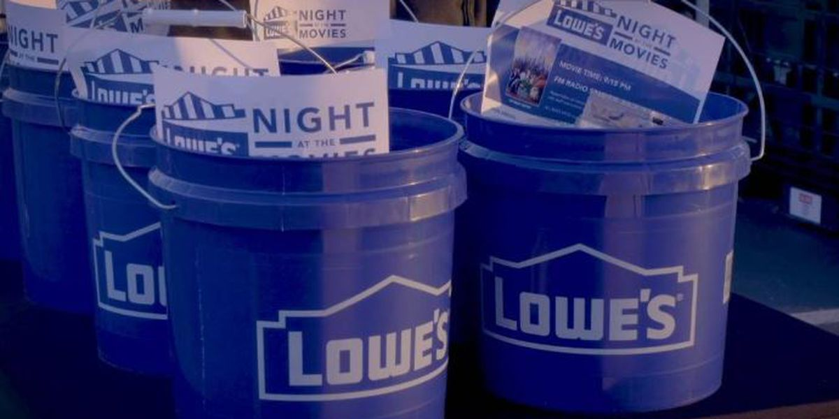 Charlotte-area Lowe's turns into drive-in theater to help minority-owned businesses