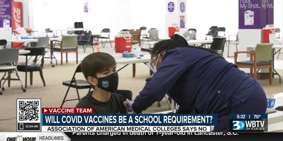 Will COVID-19 vaccines be a school requirement?