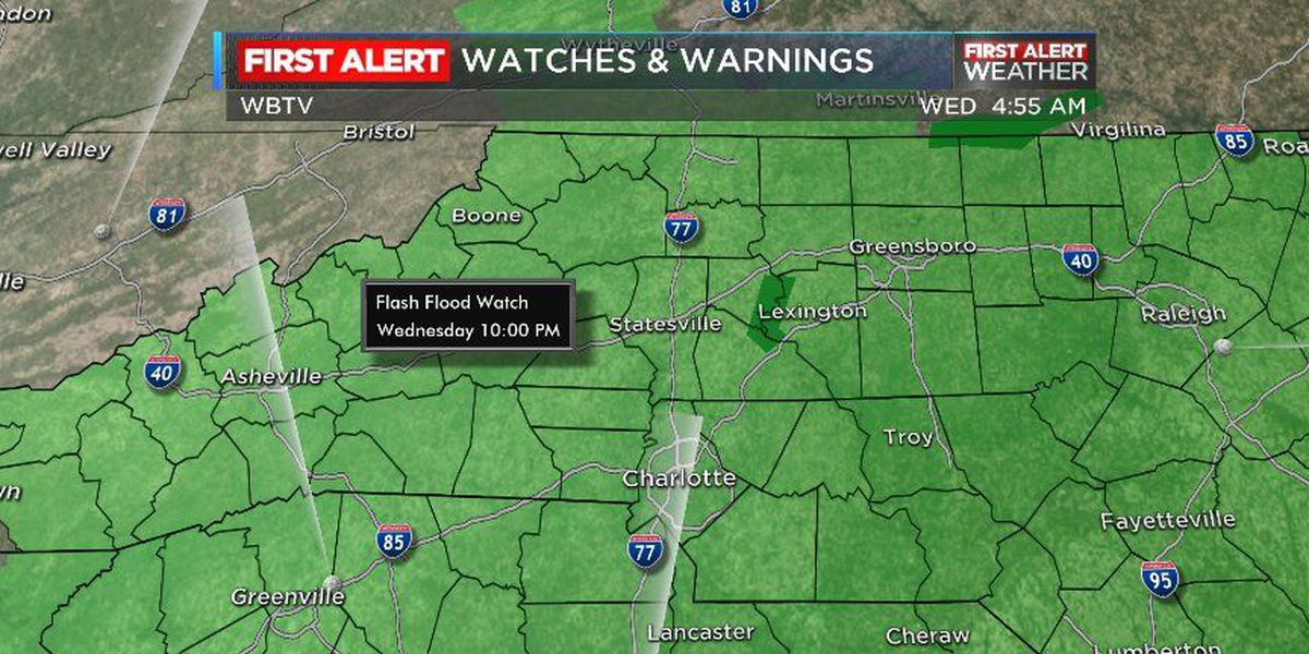 Dual threat: Flash flooding and severe storms possible