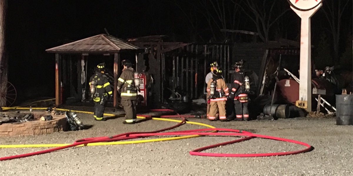 ATV catches fire in garage of Gaston County home