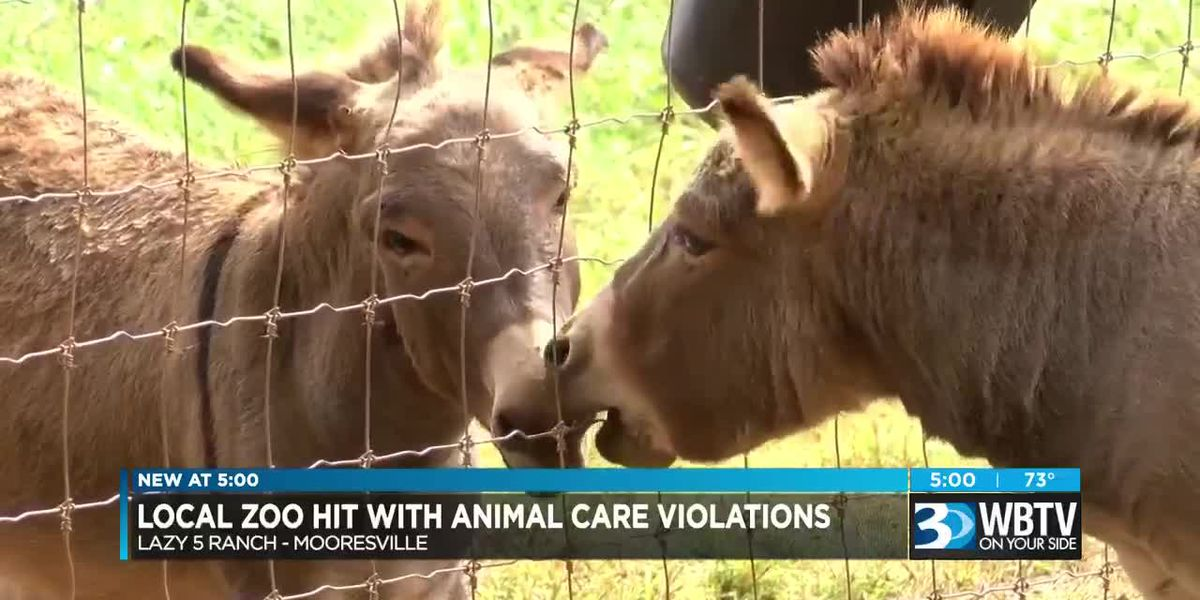 Local zoo hit with animal care violations