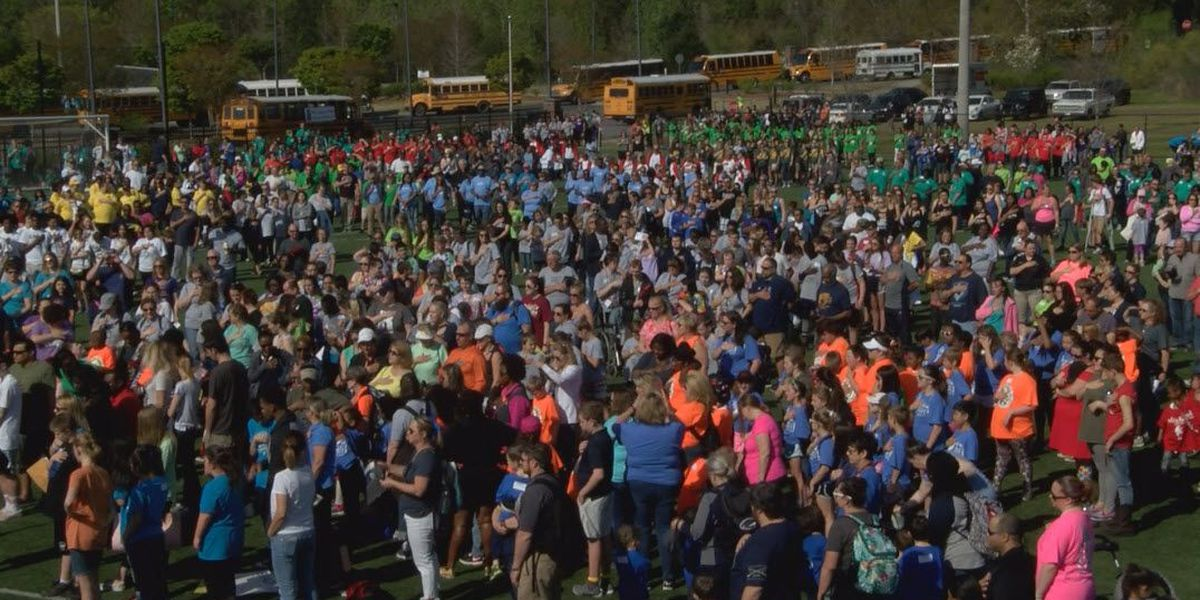 More than 1,100 athletes compete in the 47th annual Special Olympics in Rock Hill