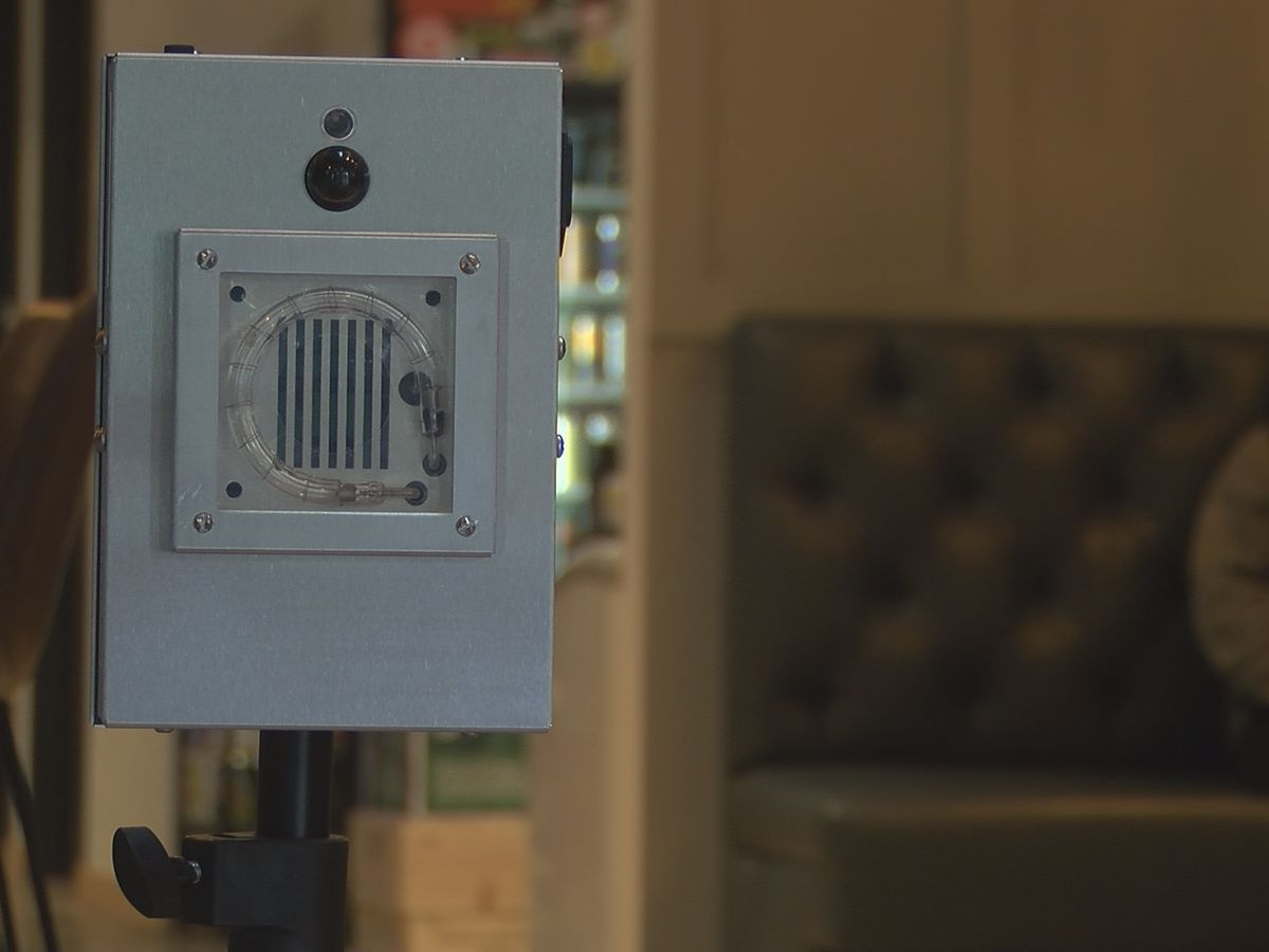 Local coffee shop invests in COVID-killing technology
