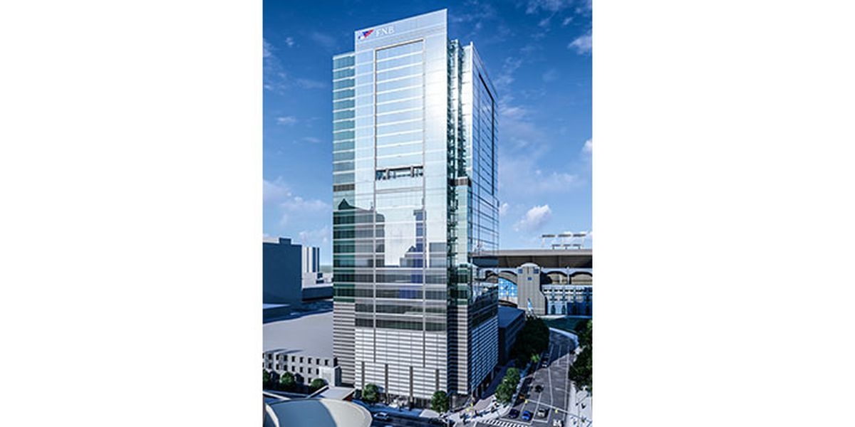 Construction begins on 29-story uptown bank tower. It will have more than offices