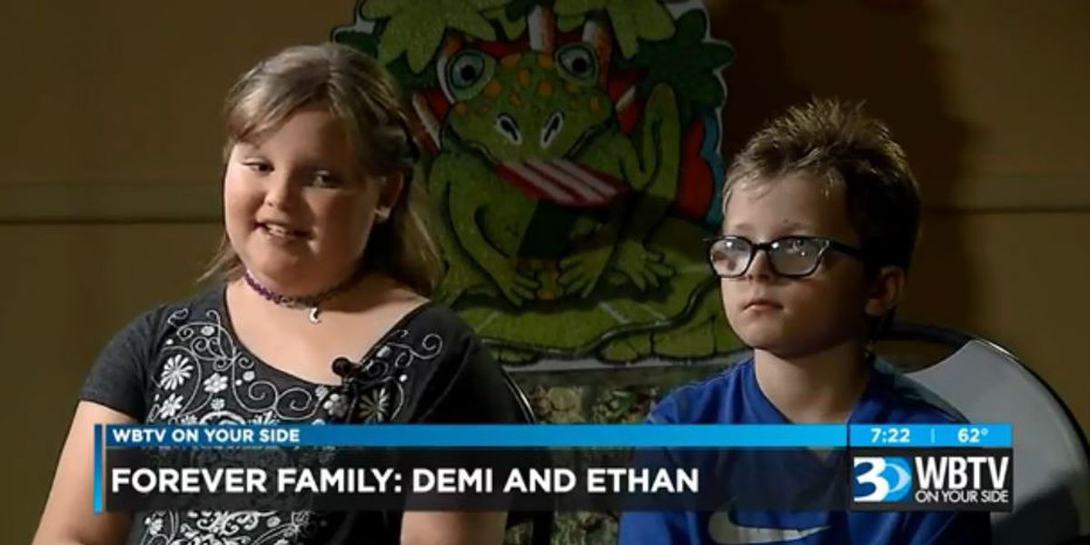 Forever Family: Meet Demi and Ethan