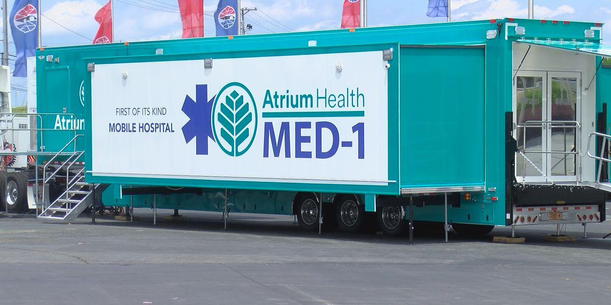 Atrium Health debuts mobile emergency department at Coca-Cola 600