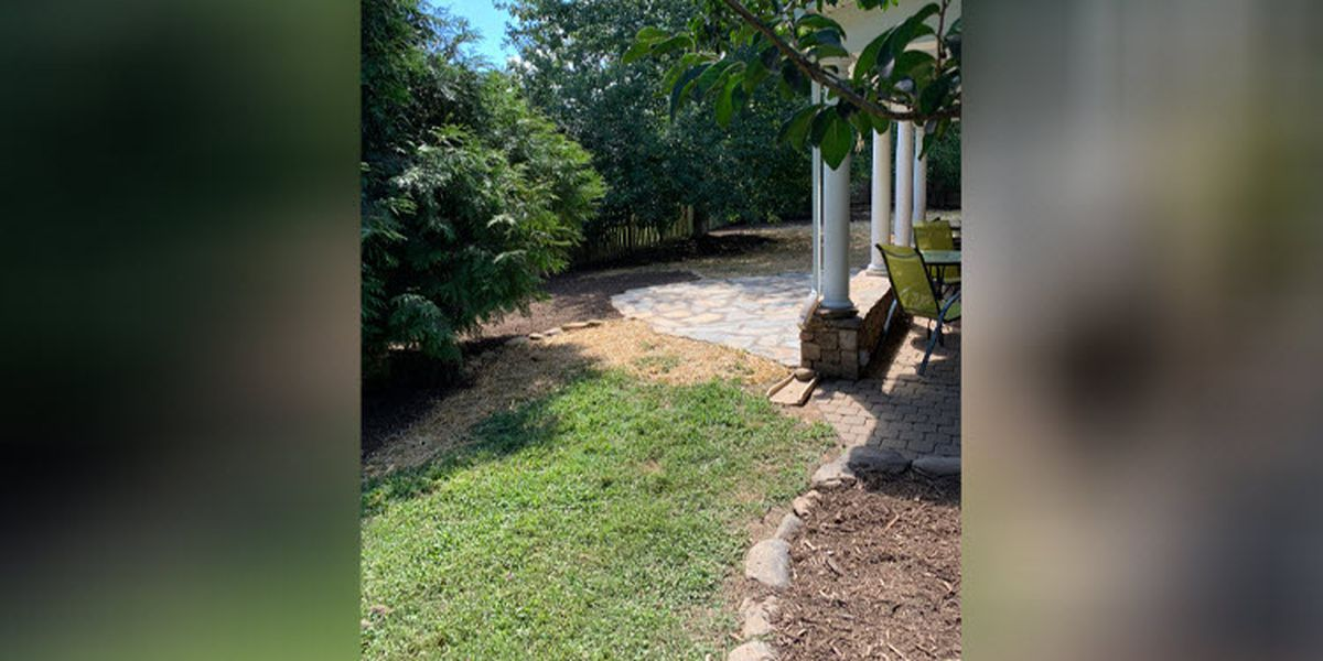Woman pays $5,000 for landscaping project in backyard, says it's not complete
