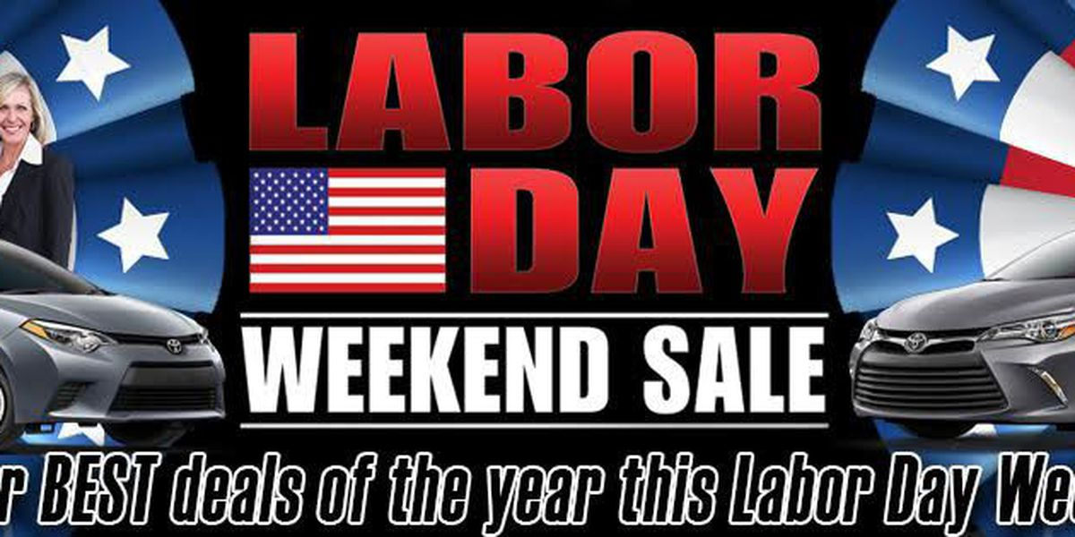 Labor Day deals at Toyota of N Charlotte!