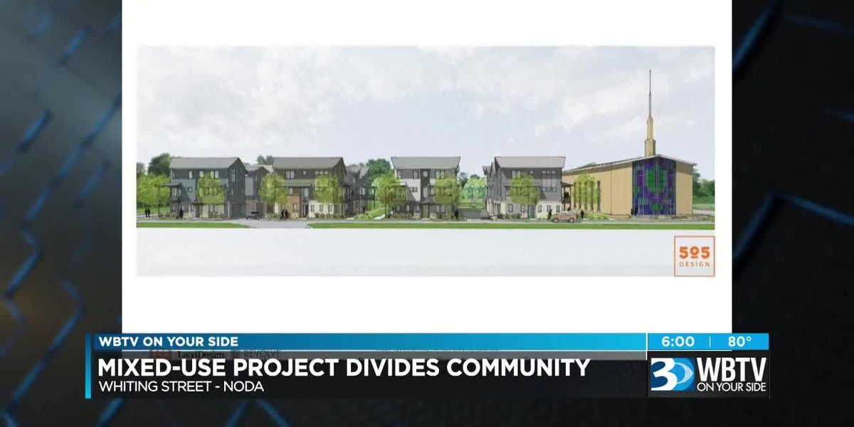 Mixed-use project divides community