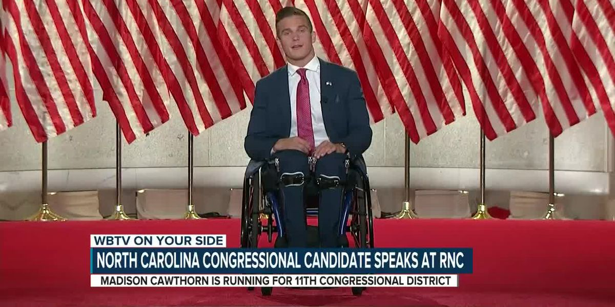 North Carolina Congressional candidate speaks at RNC