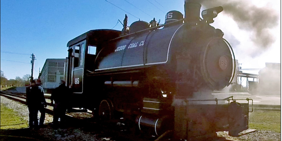 """Put your rail fan """"At the Throttle"""" of authentic steam locomotive for Valentine's Day"""