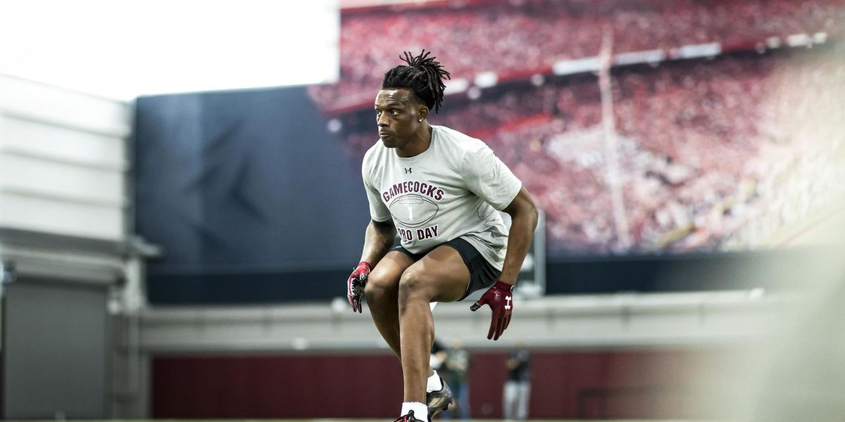 Jaycee Horn brings passion and tenacity to the Panthers secondary.