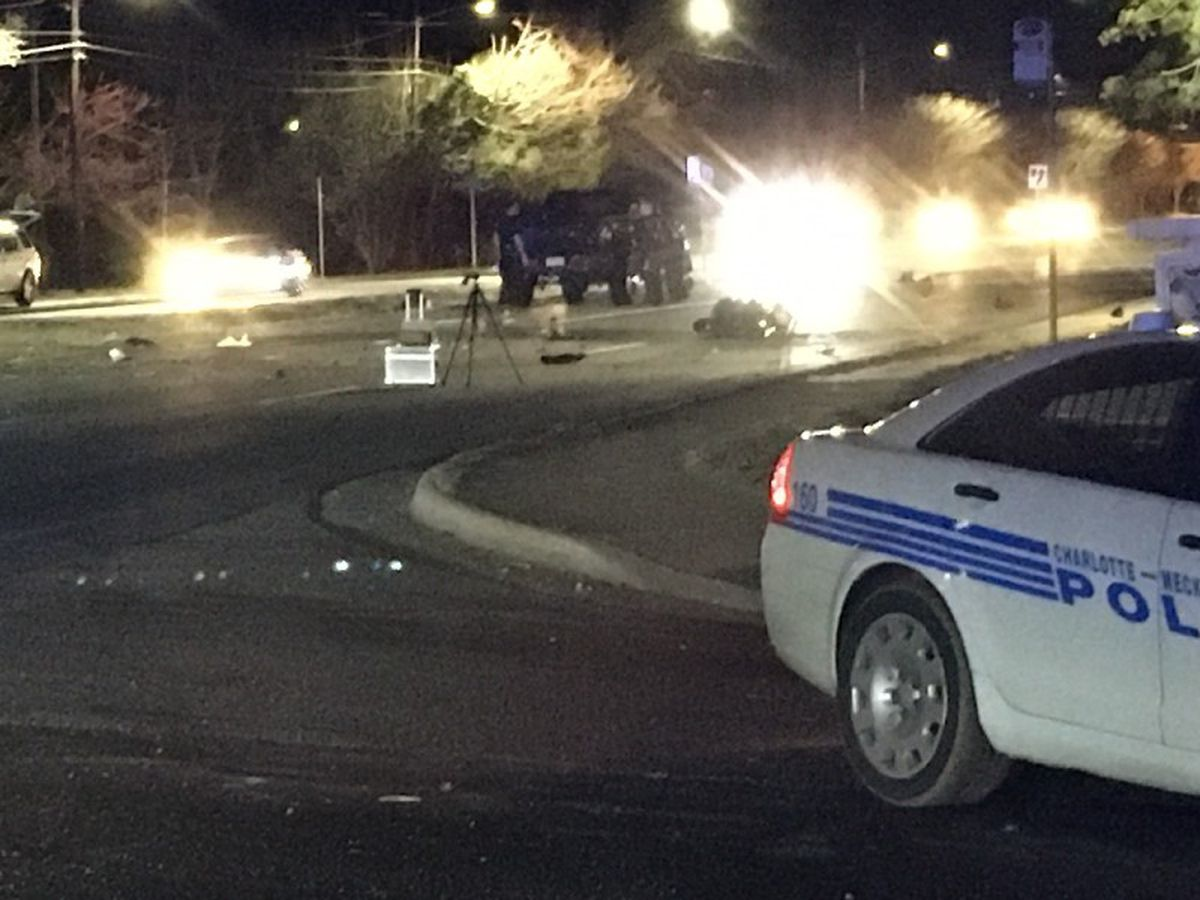 Person killed in east Charlotte wreck
