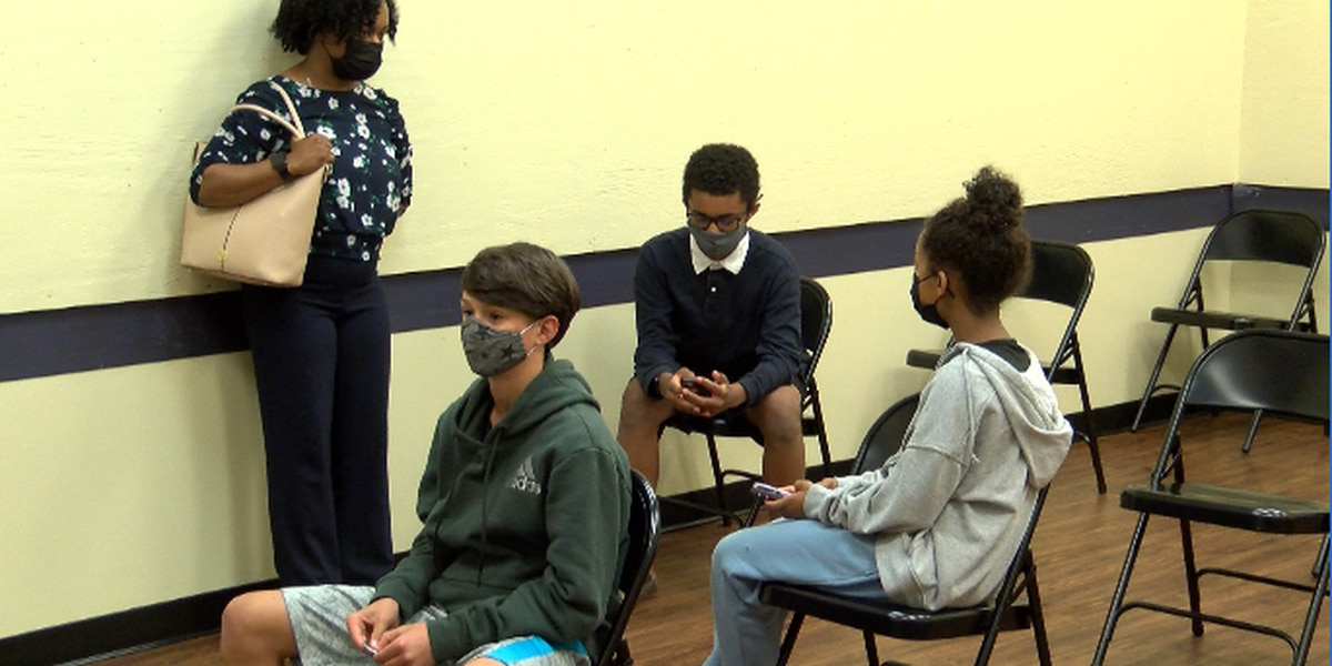 'So I can hang with my friends'; Children 12 and up get COVID-19 vaccine across Charlotte