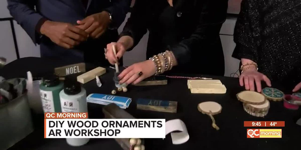 DIY Wooden Ornaments With AR Workshop