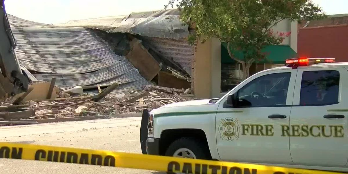 'Just smoke in the whole street': Investigation underway after Conway building collapses