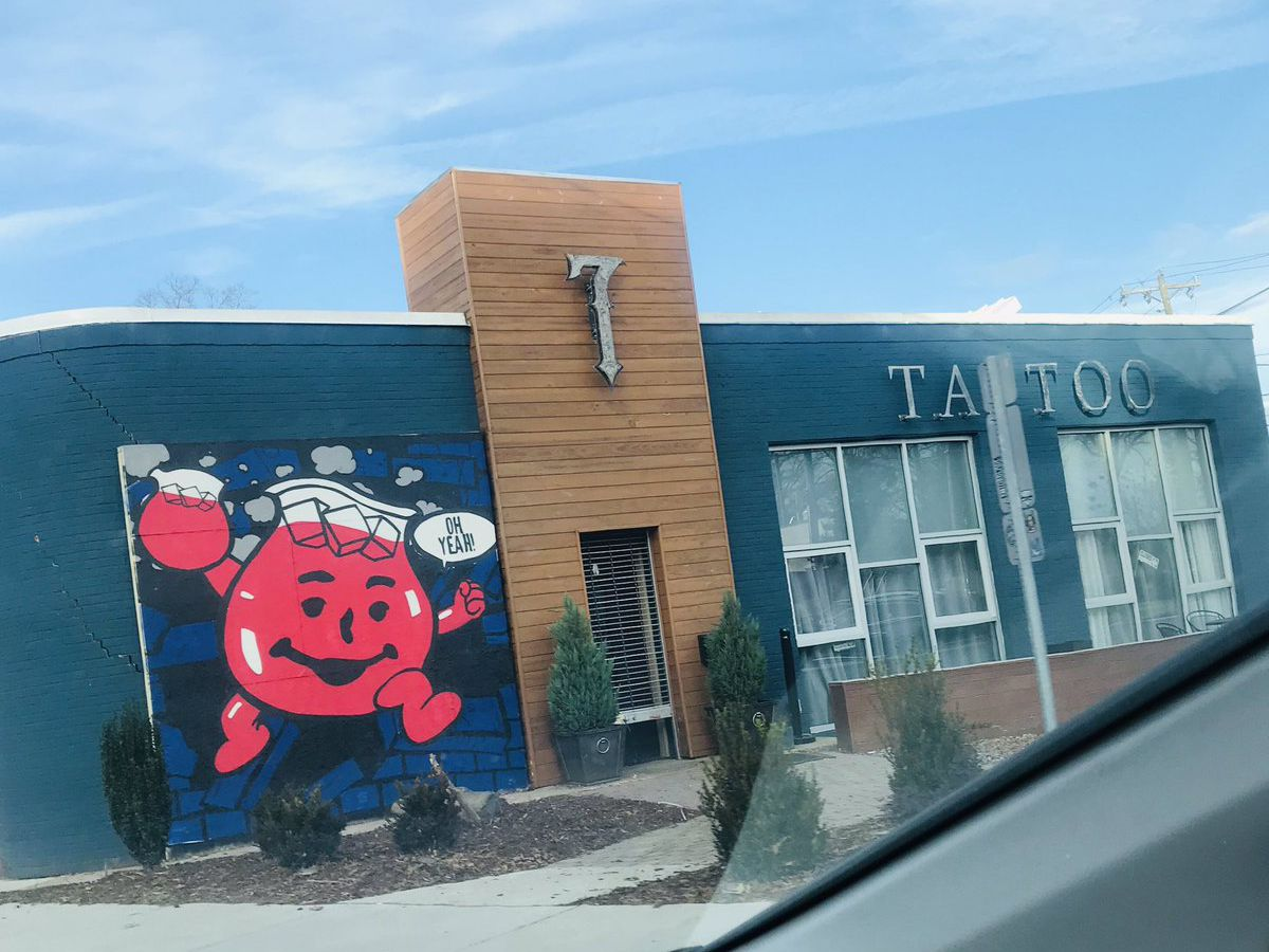 Community support (and the Kool-Aid man) keep Plaza Midwood business in good spirits after NYE crash