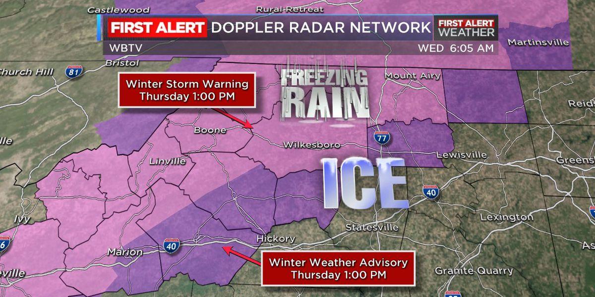 First Alert: Freezing rain threatens High Country