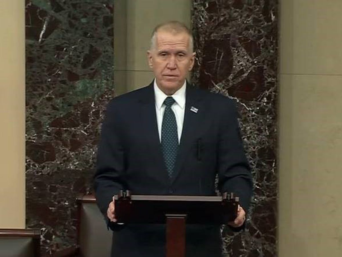 Sen. Tillis says impeaching Trump as a private citizen would set a 'dangerous precedent '