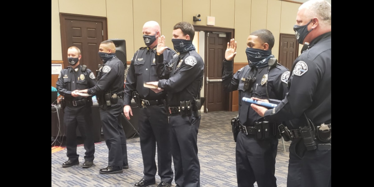 New officers join Kannapolis Police Department