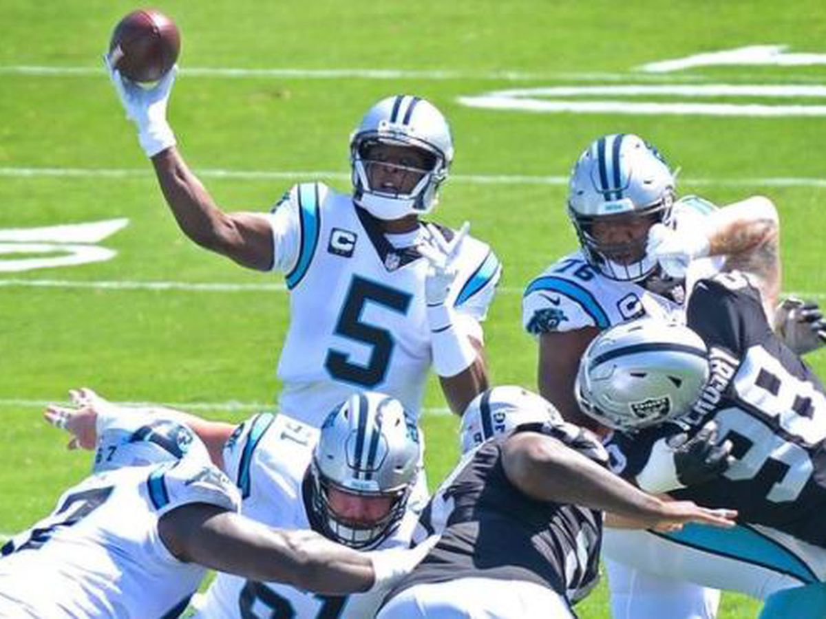 Panthers loss to Raiders in 1st game of Matt Rhule era was a sloppy, heartbreaking mess