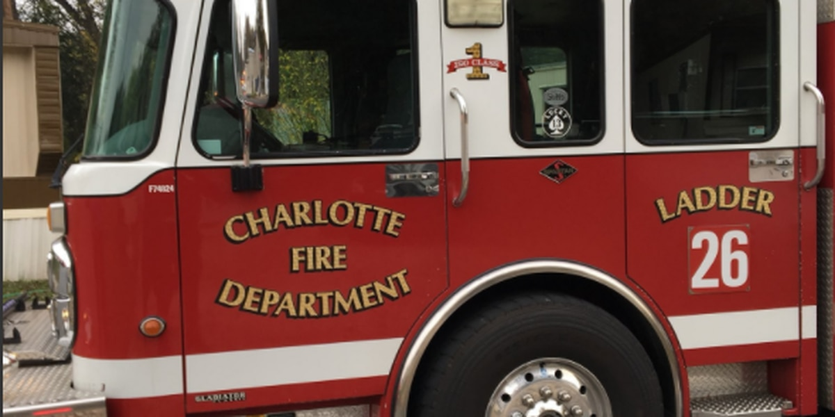 Person treated for smoke inhalation after southwest Charlotte fire