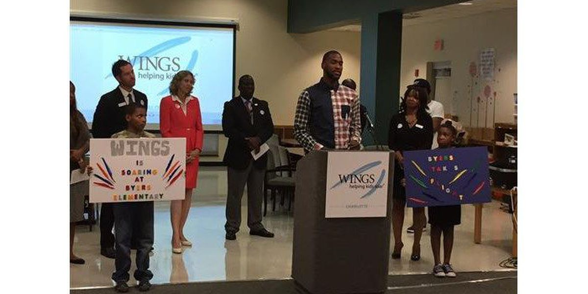 Hornets star Michael Kidd Gilchrist helps keep kids in 'right direction'