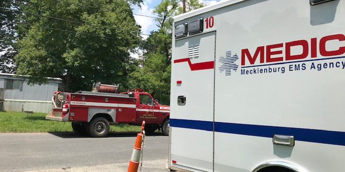 Officials working to contain large brush fire in Matthews