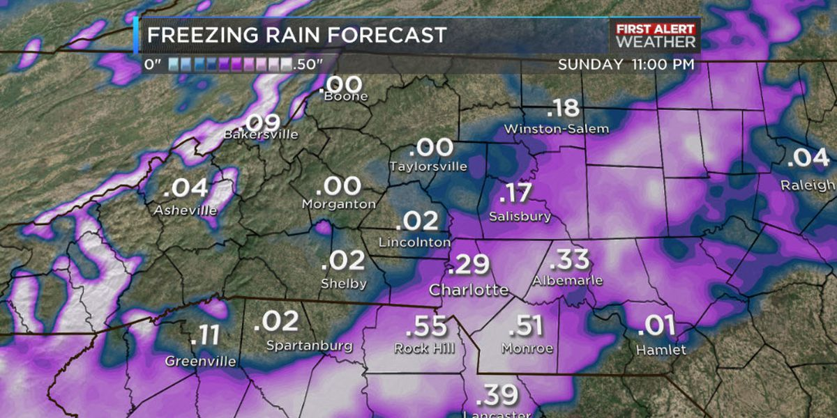 First Alert Day: Winter Storm Warning extended through noon Monday