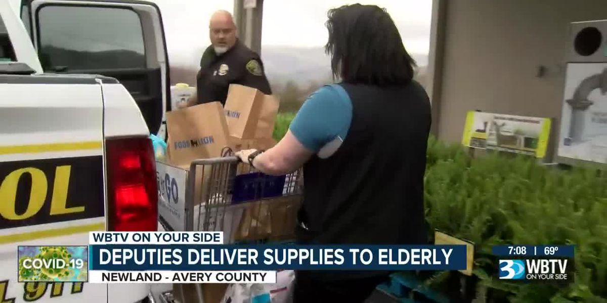 Avery deputies help deliver supplies to people most vulnerable to coronavirus