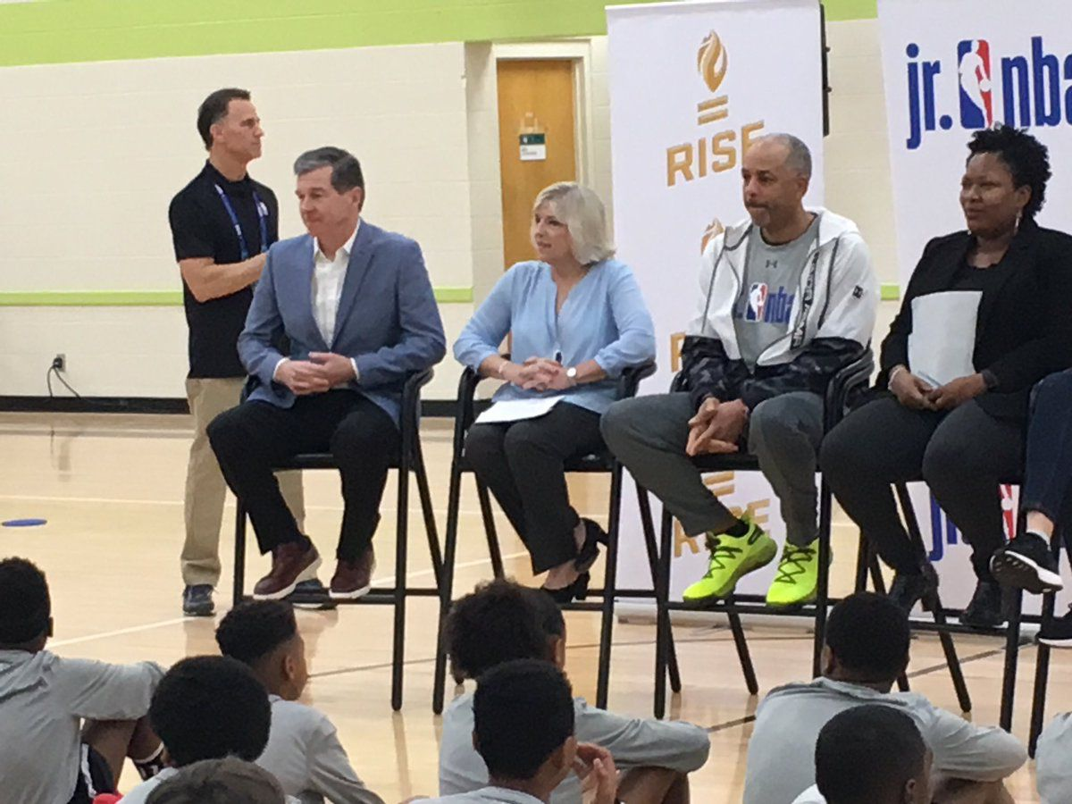 The program Building Bridges Through Basketball comes to Charlotte