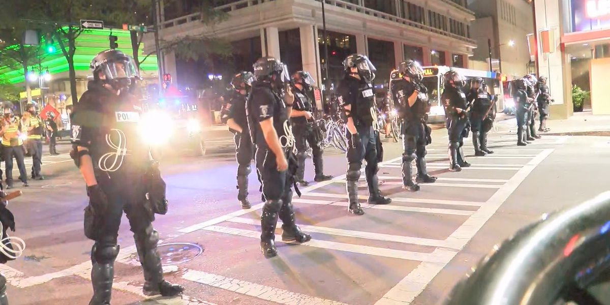 Not all civil-emergency unit officers wear body cameras during protests, CMPD confirms