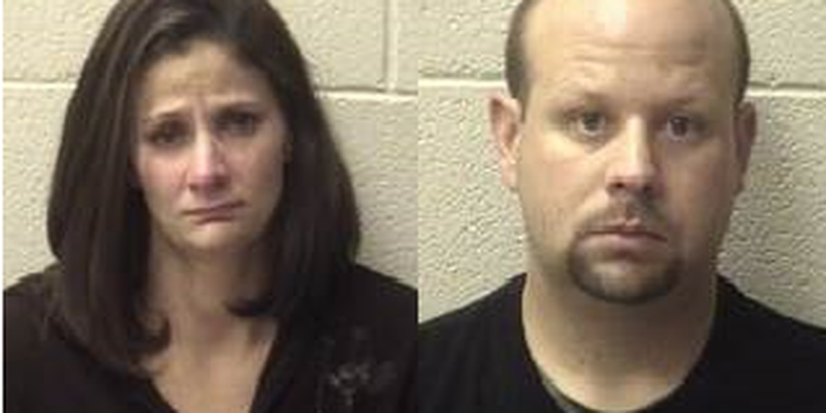 Alexander Co sheriff arrests man, woman accused of larceny