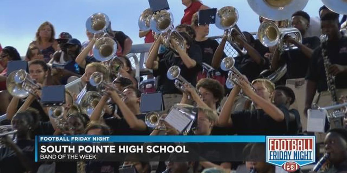 South Pointe High School- Band of the Week