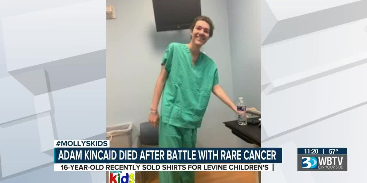 Adam Kincaid died after battle with rare cancer