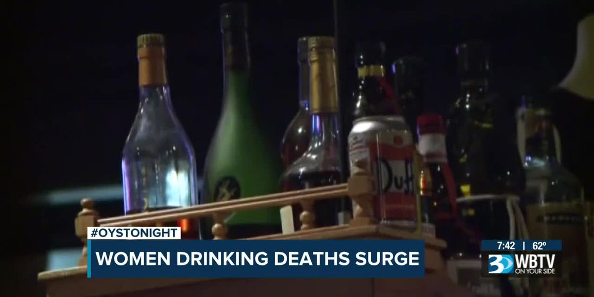 Alcohol-related deaths rise among women