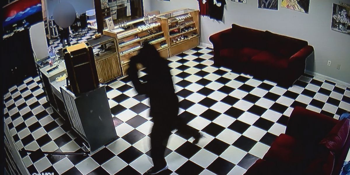 Surveillance video shows Gastonia CBD business being robbed