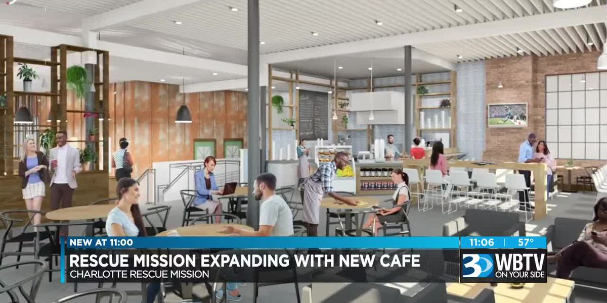 Charlotte Rescue Mission set to open Community Matters Café in uptown