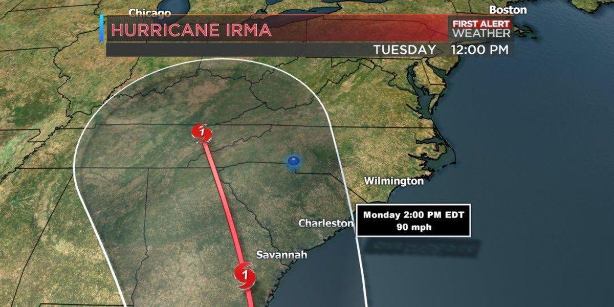Rowan, Cabarrus leaders 'cautiously optimistic' about Irma's path