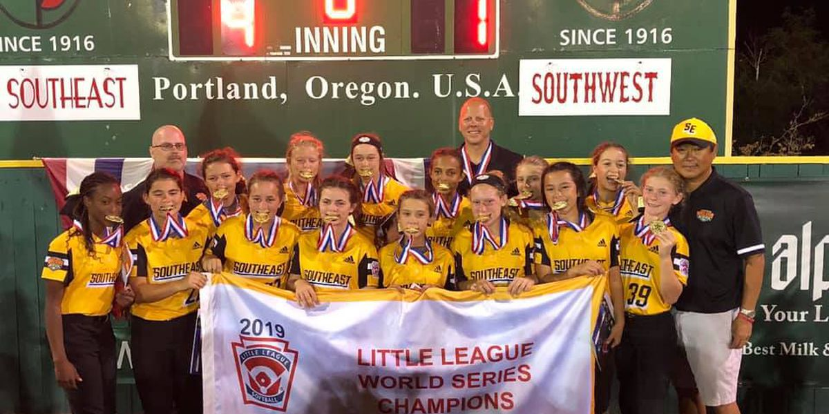 Little League Softball World Series: Rowan's girls of summer are once again World Champions