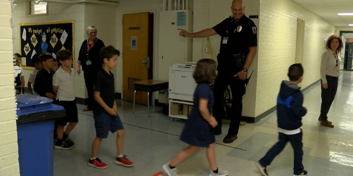 CMS Resource Officer impacting children to better police relations in community