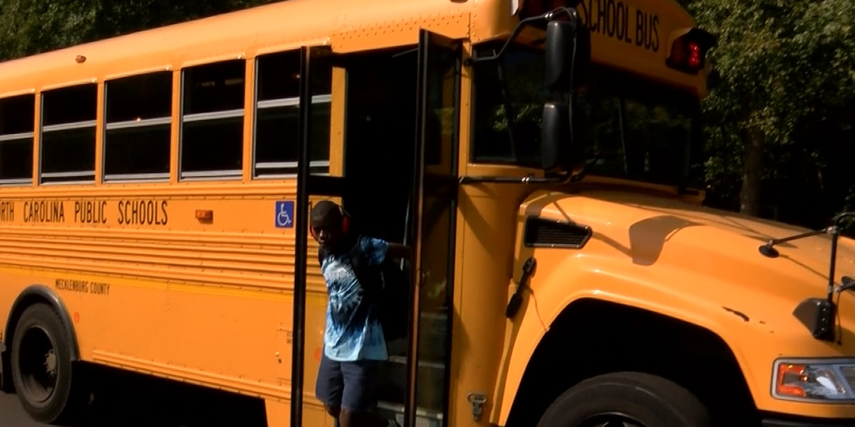 CMS students with special needs riding school bus without A/C