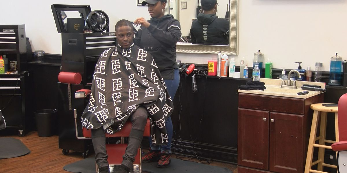 Barbers give local elementary students free haircuts to boost confidence