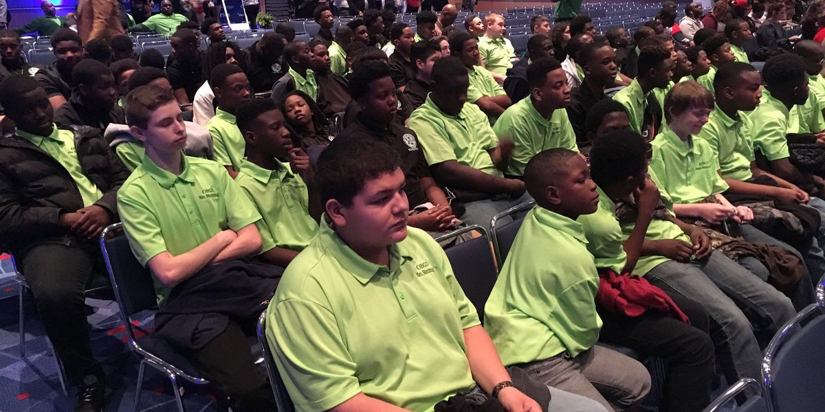 High school students participate in CIAA Education Day