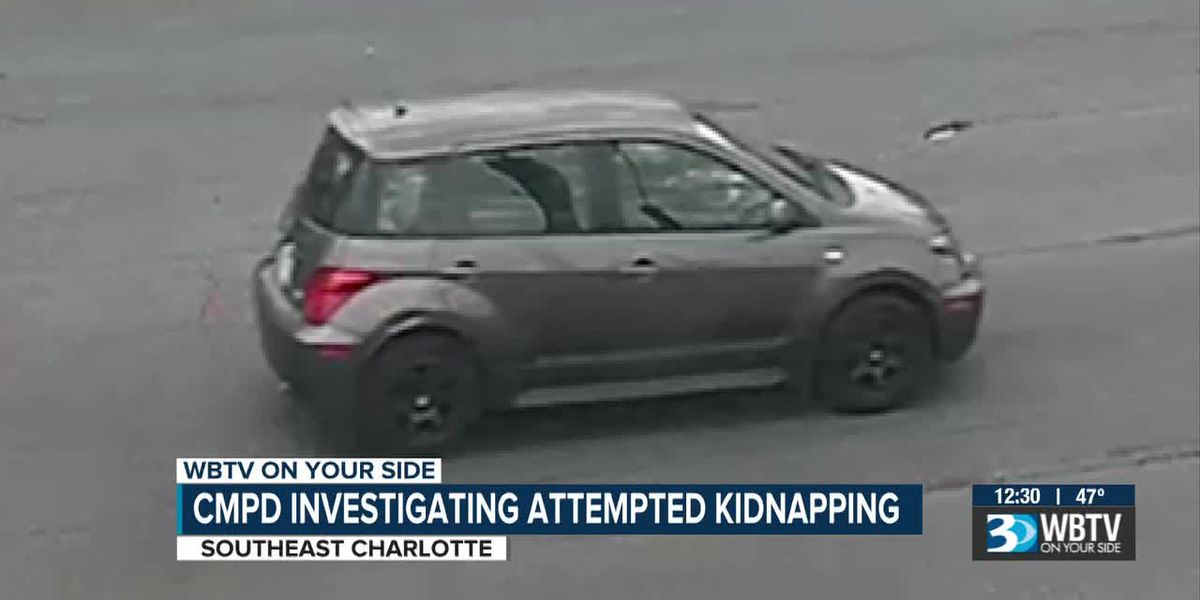 CMPD investigating attempted kidnapping