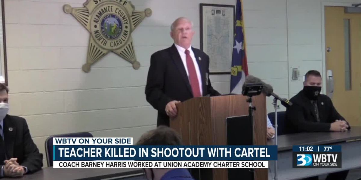 Teacher killed in shootout with cartel