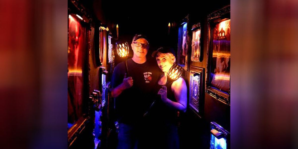 On Halloween, 1,000-plus will line up to get onto this Charlotte couple's spooky porch