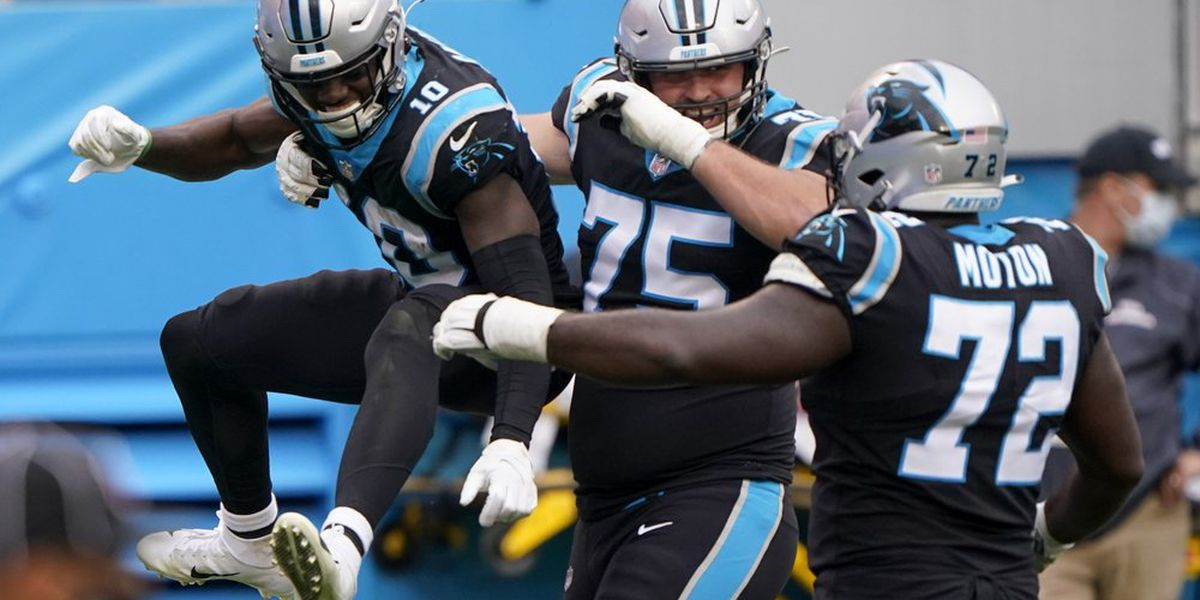 The growth of the Carolina Panthers is starting to show